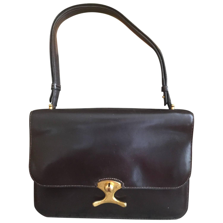... usa hermes unusual vintage black shoulder bag f8951 a8037 f16101cd55380