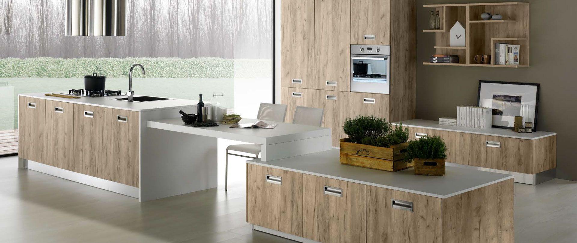 Atemberaubende Nevada Moderne Küche Lförmigen die