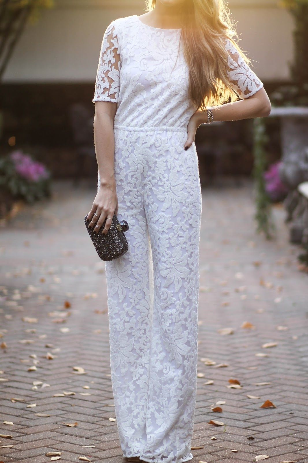 c682bfd23bc4 dvf white lace jumpsuit