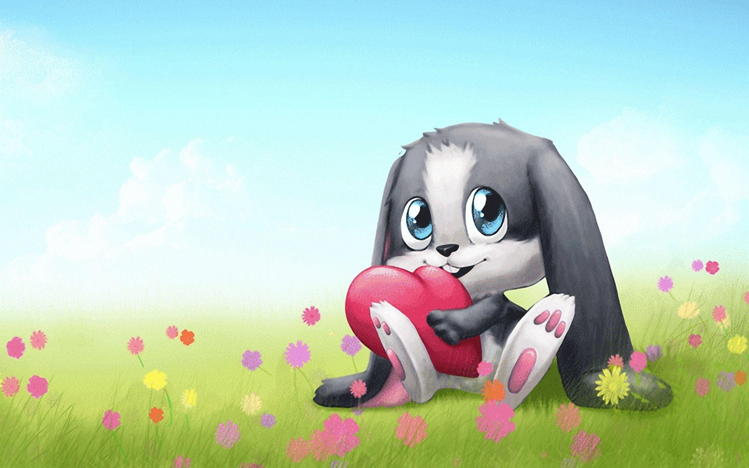cute bunny cartoon hd wallpapers for windows 8 Wallpaper