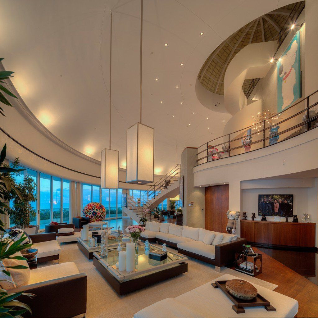 Pharrell Williams' gigantic Miami penthouse has fi