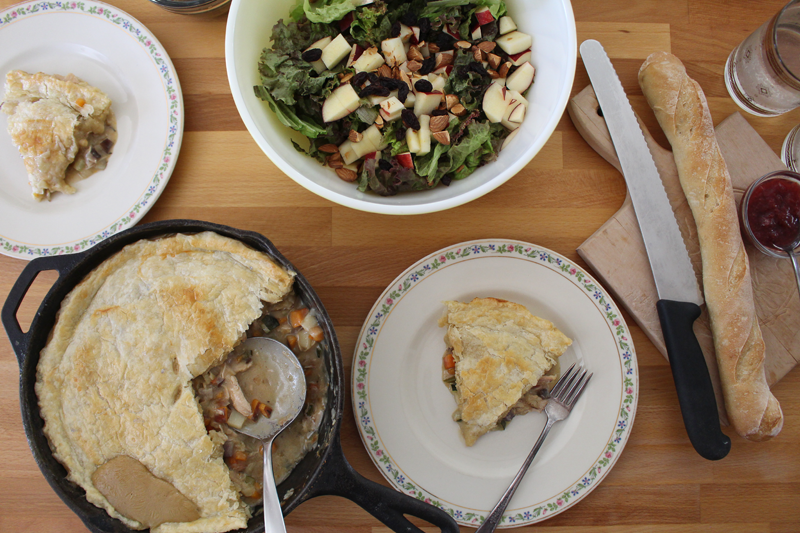 Abundant Harvest Recipes - Chicken pot pie