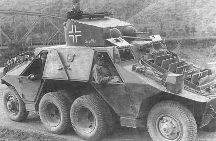 A Steyr ADGZ with the 7th SS Division
