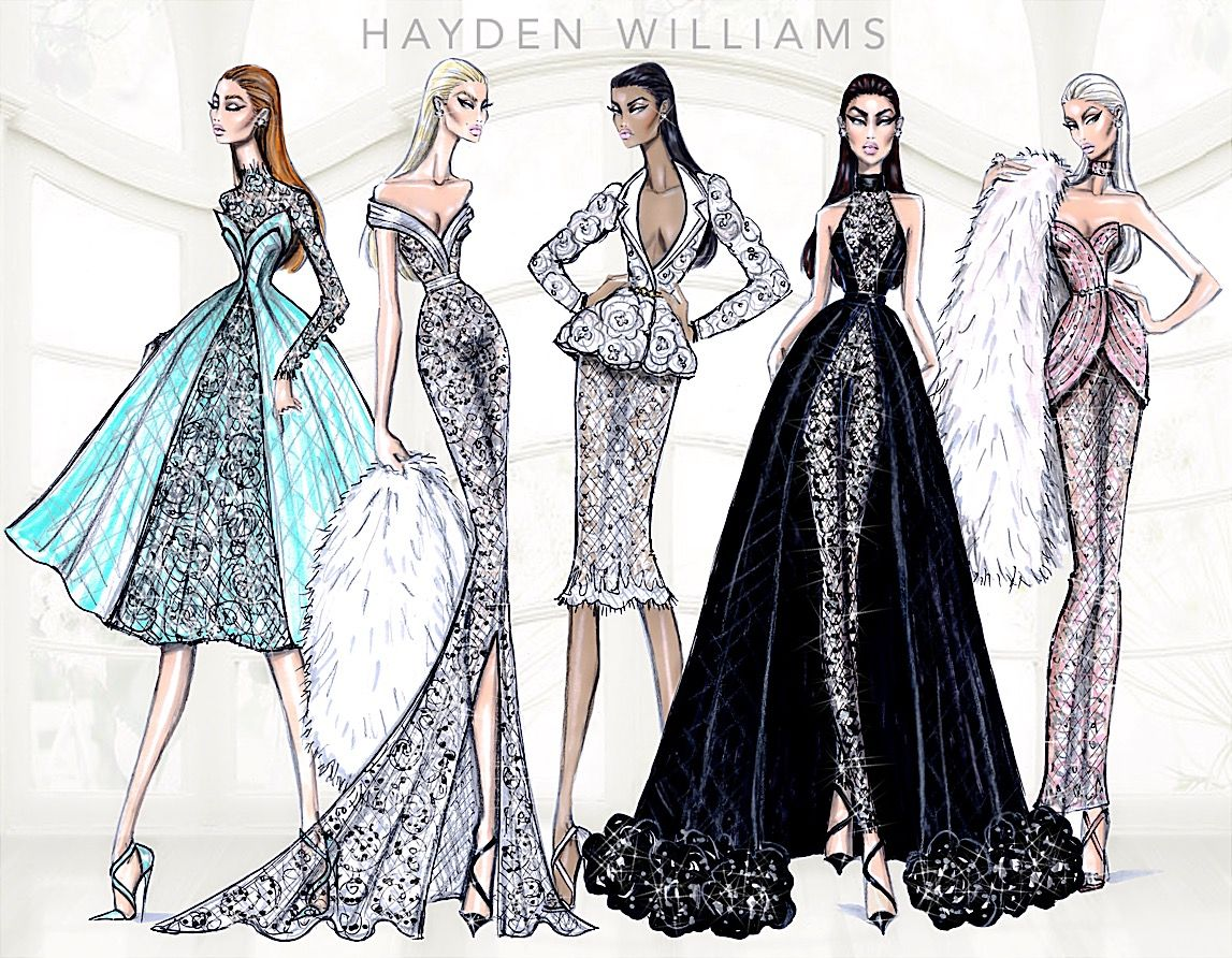 Hayden williams haute couture ss15 collection for Hot couture fashion