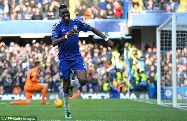 The 21-year-oldBurkinabe forward scored four goals in 16 appearances for the Blues last term