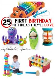 Ultimate Gift Idea List For A First Birthday 1st Birthday Gifts
