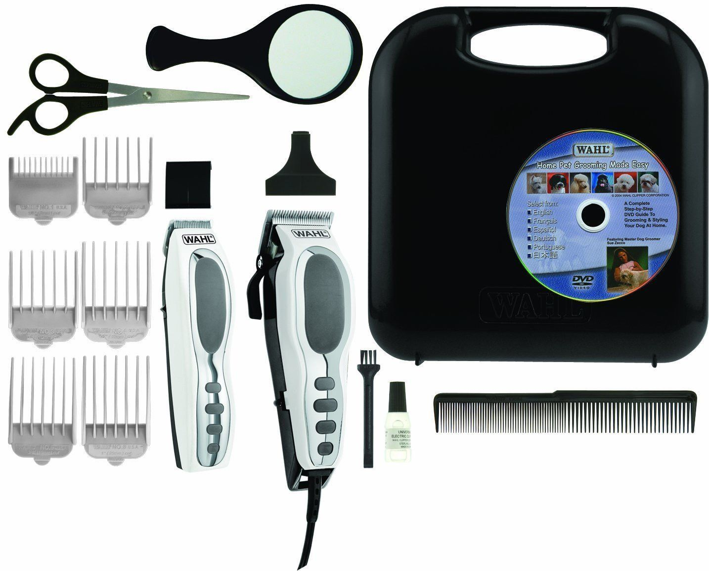 Wahl Professional Pet Grooming Deluxe Kit Clippers Cordless Trimmer Dog Cat New And Awesome Product Awa Pet Grooming Dog Grooming Scissors Cat Grooming Tools
