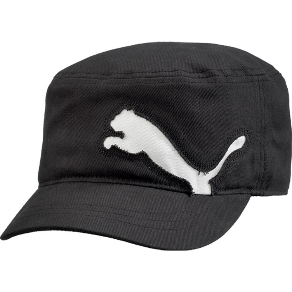 Puma Clairmont Military Golf Cap Raw Cut Puma Cat Logo, Military-Inspired  Hat, Adjustable With Alligator Clasp Mens Hats & Headwear Golf Apparel