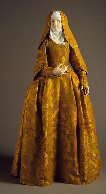 Vestido De Monja O Dama Recluida En Convento Siglo Xvii