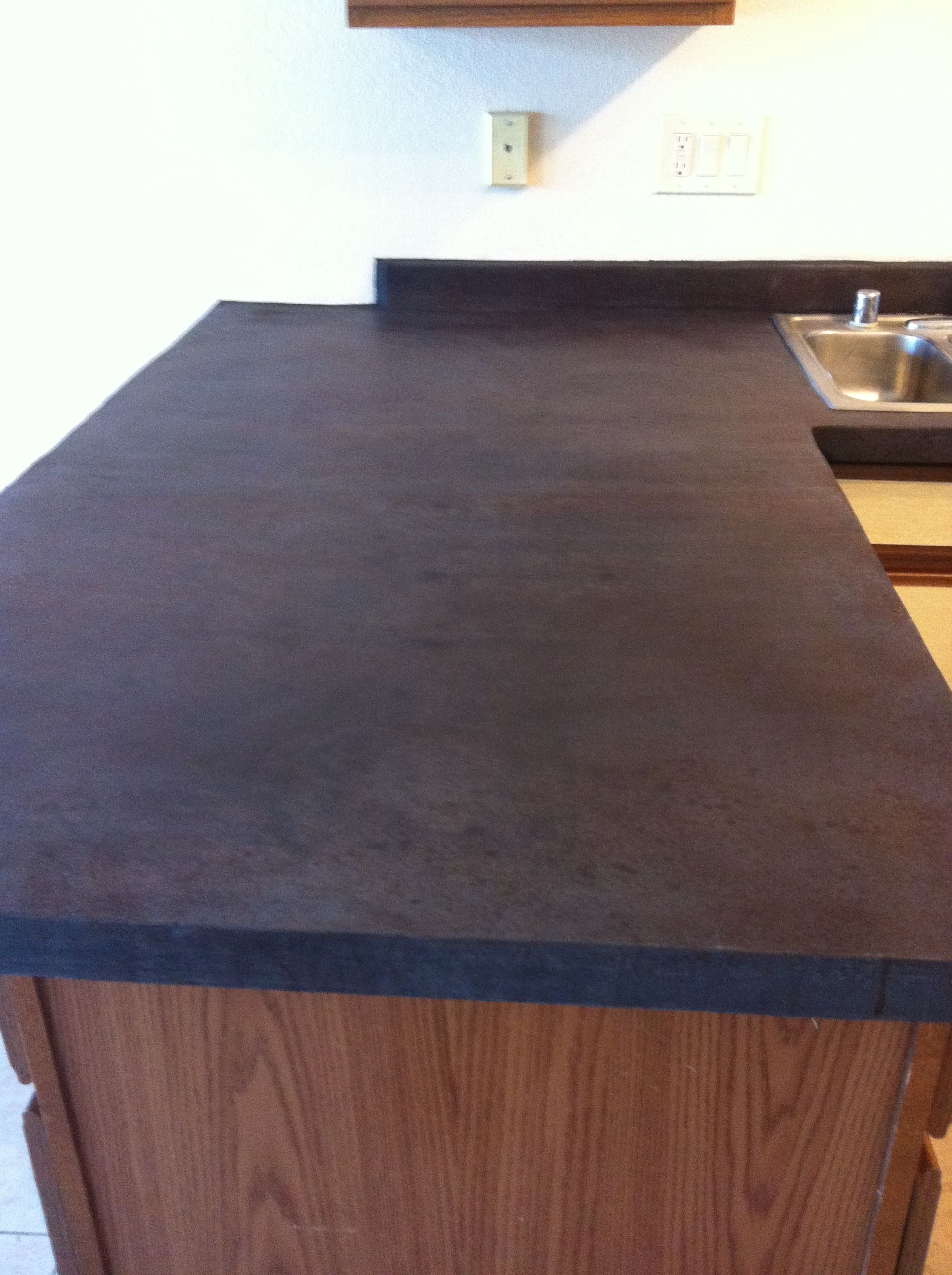 Concrete Countertop Overlay With Images Countertop Overlay