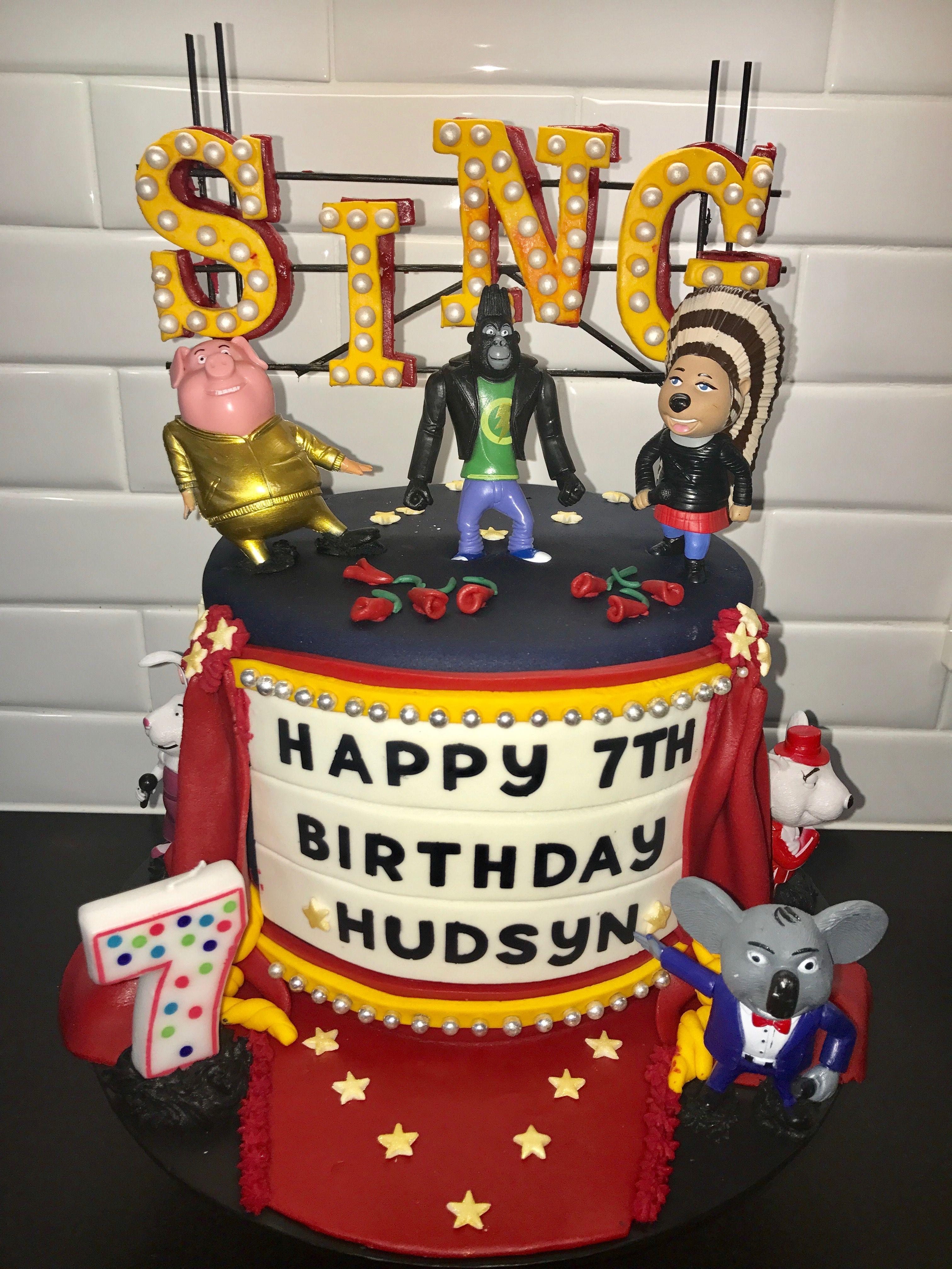 Sing Birthday Cakes Birthday Cake Cake Birthday