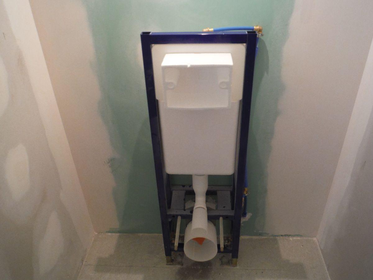 Faire Le Coffrage En Placo D Un Wc Suspendu Avec Images Wc Suspendu Habillage Wc Suspendu Toilette Suspendu
