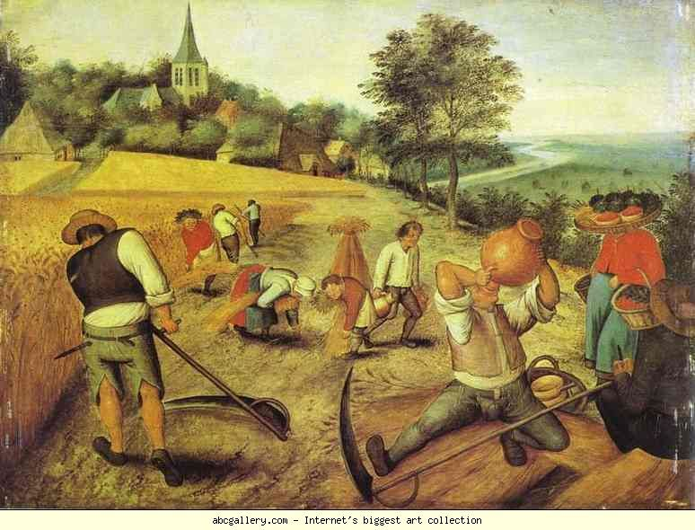 Pieter Brueghel the Younger. Summer.