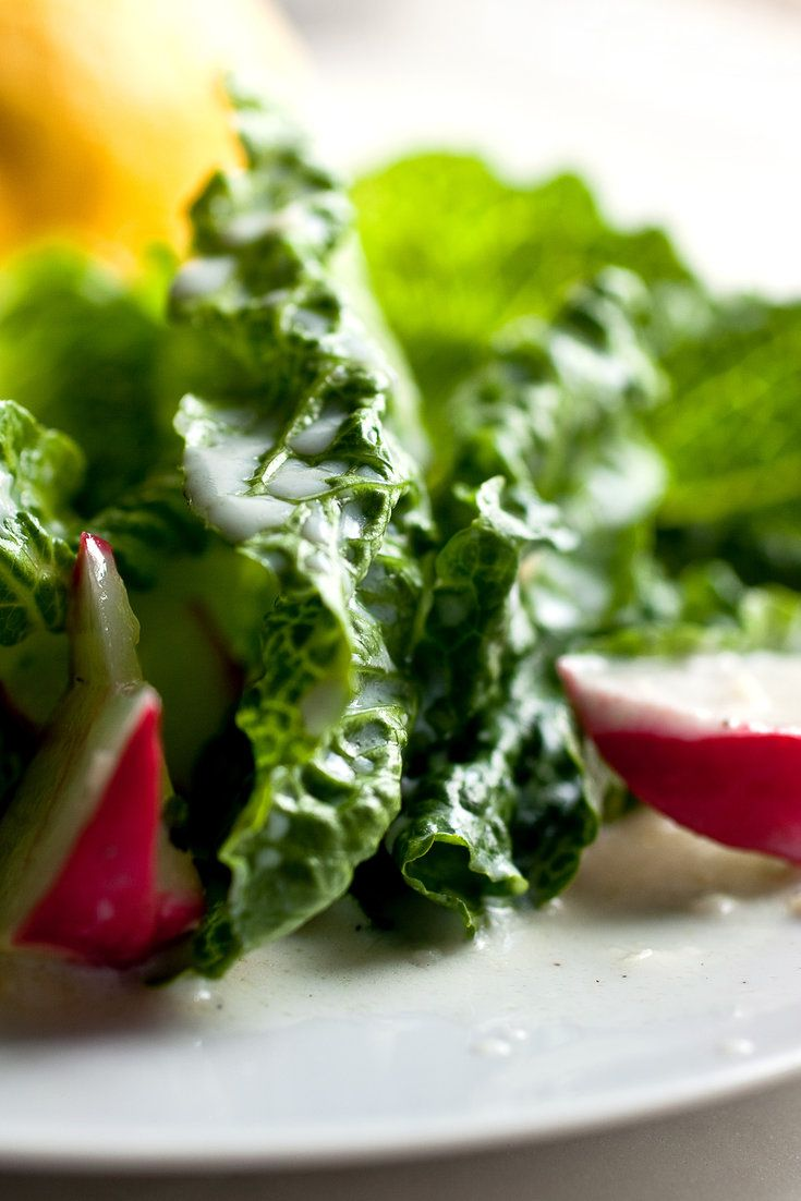 Romaine And Radish Salad With Buttermilk Lemon Dressing Recipe Recipe Radish Salad Fresh Salad Recipes Healthy Recipes Easy Snacks