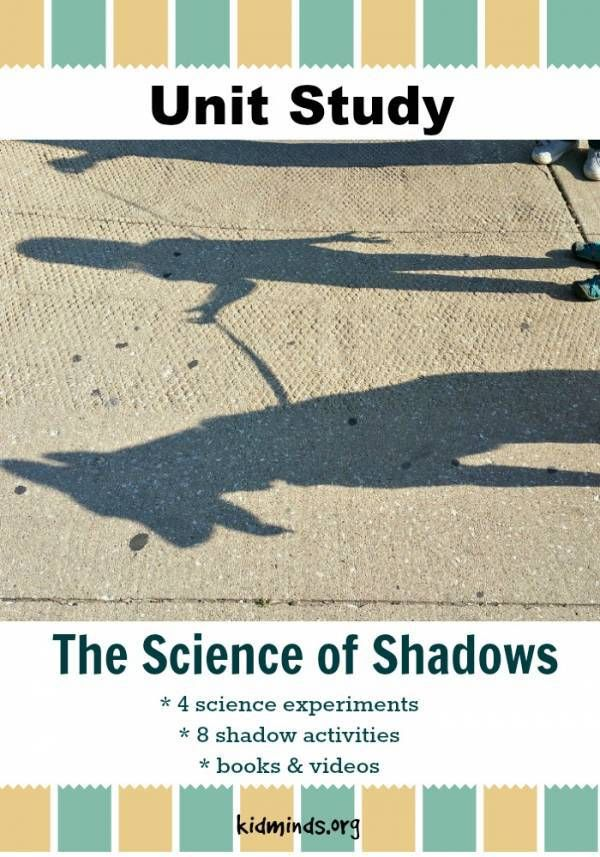 Help Your Kids Learn about Shadows with this Free Unit Study ...