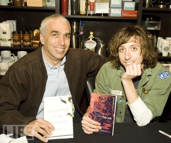 David and Nic Sheff, authors of Beautiful Boy and Tweak. | Books ...