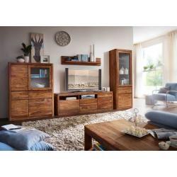 Photo of Tv-board New York Sheesham in legno massello, 180 x 40 x 60 cm