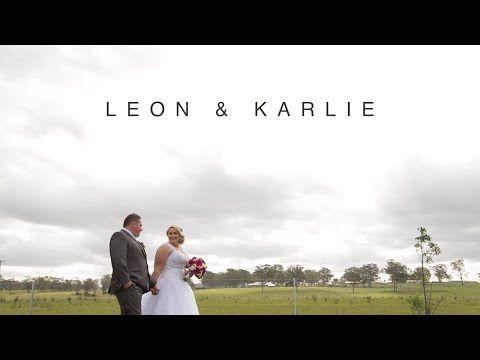 Leon & Karlie // Wedding Highlight Video // Camden Valley Inn - YouTube
