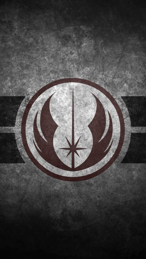 Jedi Order Symbol Cellphone Wallpaper By Swmand4 Silhouettecameo