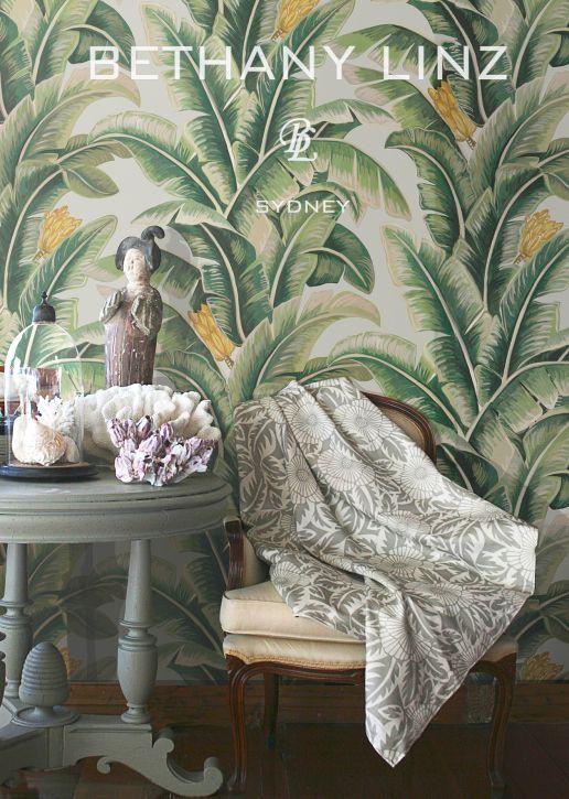 tropical style australian design style home decor love it pinterest papier peint. Black Bedroom Furniture Sets. Home Design Ideas