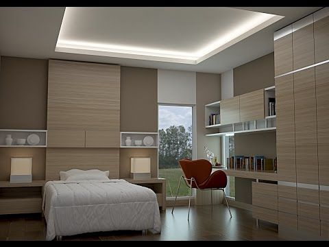 3d Max Tutorial Interior Bedroom Modeling 2016 Vray Photoshop Youtube Bedroom Design Contemporary Bedroom Design Home Interior Design
