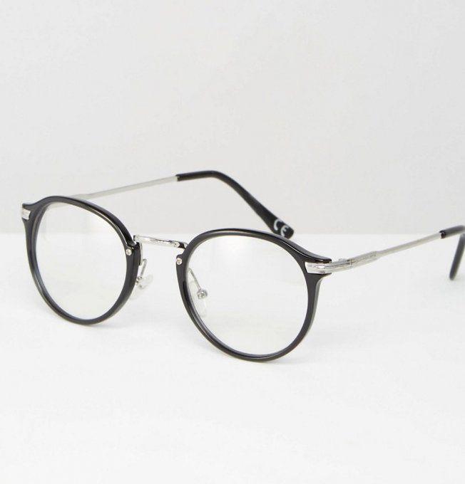 Lunettes de vue rondes, lunettes de vue anti lumière bleue, lunettes de vue  geek 8d4d23e56eec