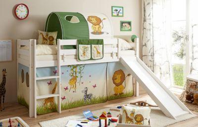 Etagenbett Mit Seitlicher Treppe : Dieses rutschbett mit löwenbildern erfüllt sicherlich jeden