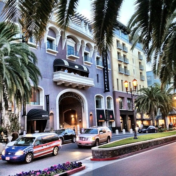 Hotel Valencia Santana Row With Images Hotel San Jose Hotel