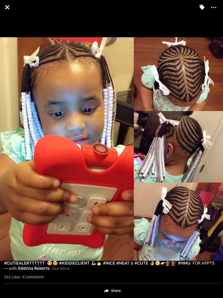 Cute lil girl hairstyle hair pinterest lil girl hairstyles