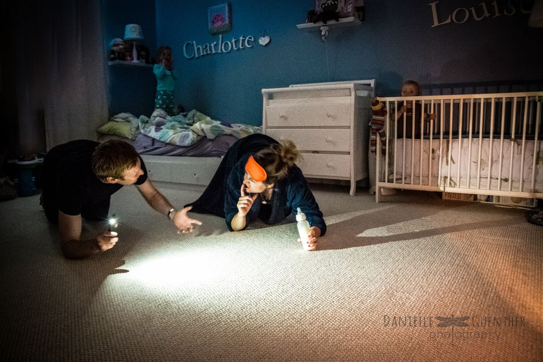 Photographer Captures The Utter Chaos Of Being A Parent