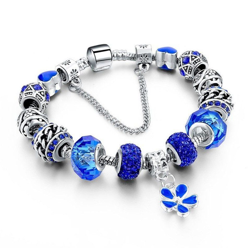 Bracelet ladies shining crystal birthday jewelry gift bracelet