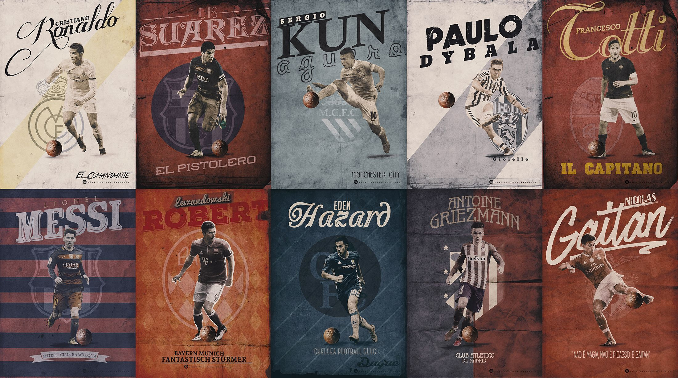 Jose Pantoja Vintage Posters