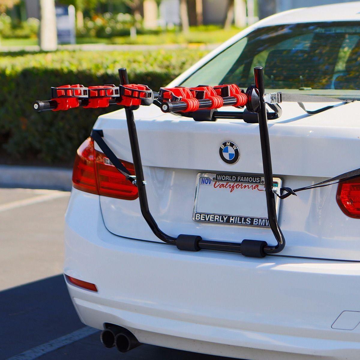 New 3 Bike TrunkMount Hatchback SUV or Car Sport Bicycle