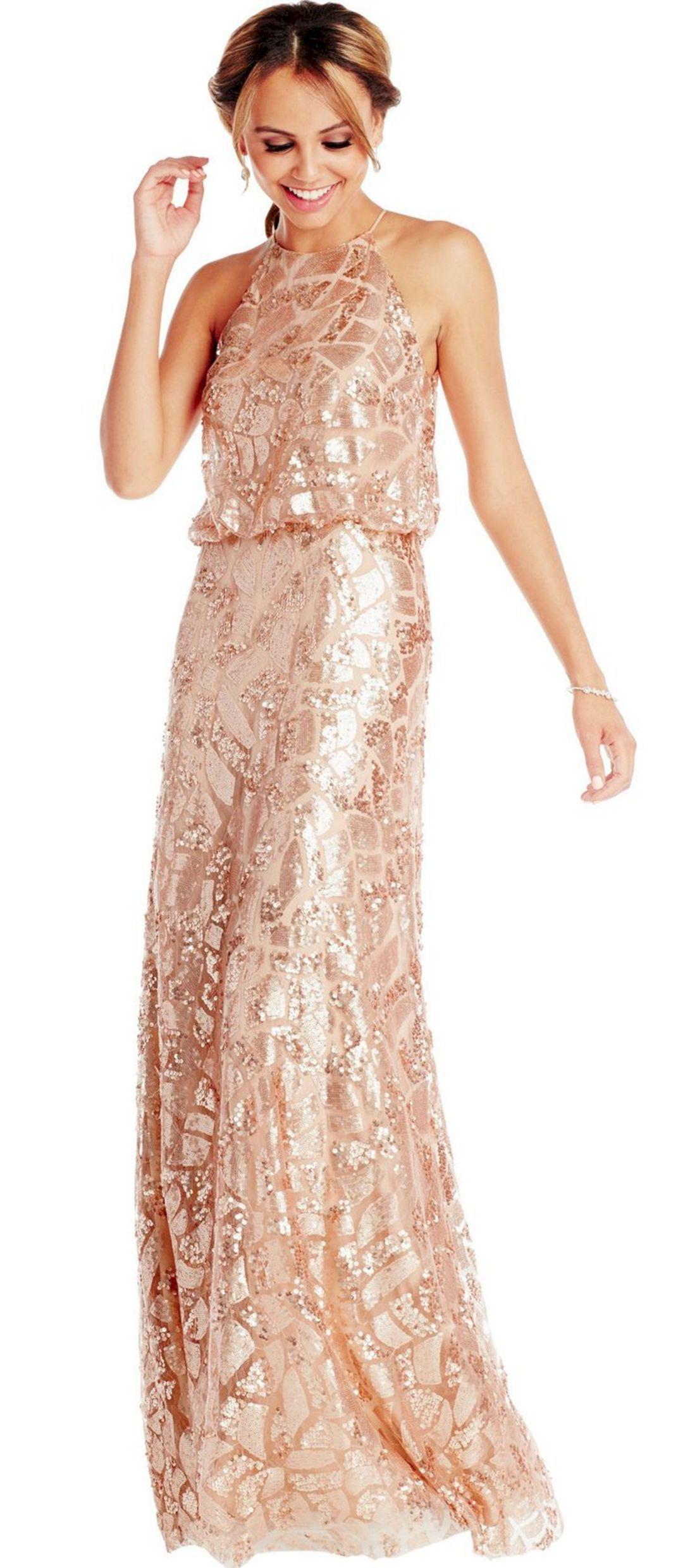 Adorable 15 Brilliant Gold Long Wedding Dresses For Bridesmaid Ideas  https   oosile. fa415ee00