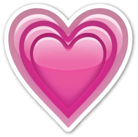 Bildergebnis für emoji herz rosa