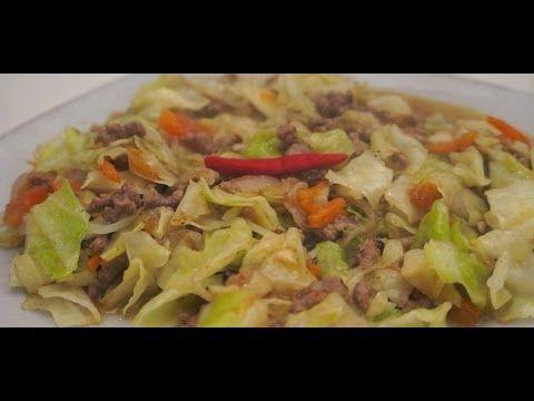 ginisang repolyo at giniling na baka recipe tagalog pinoy ginisang repolyo at giniling na baka recipe tagalog pinoy filipino cooking youtube forumfinder Choice Image