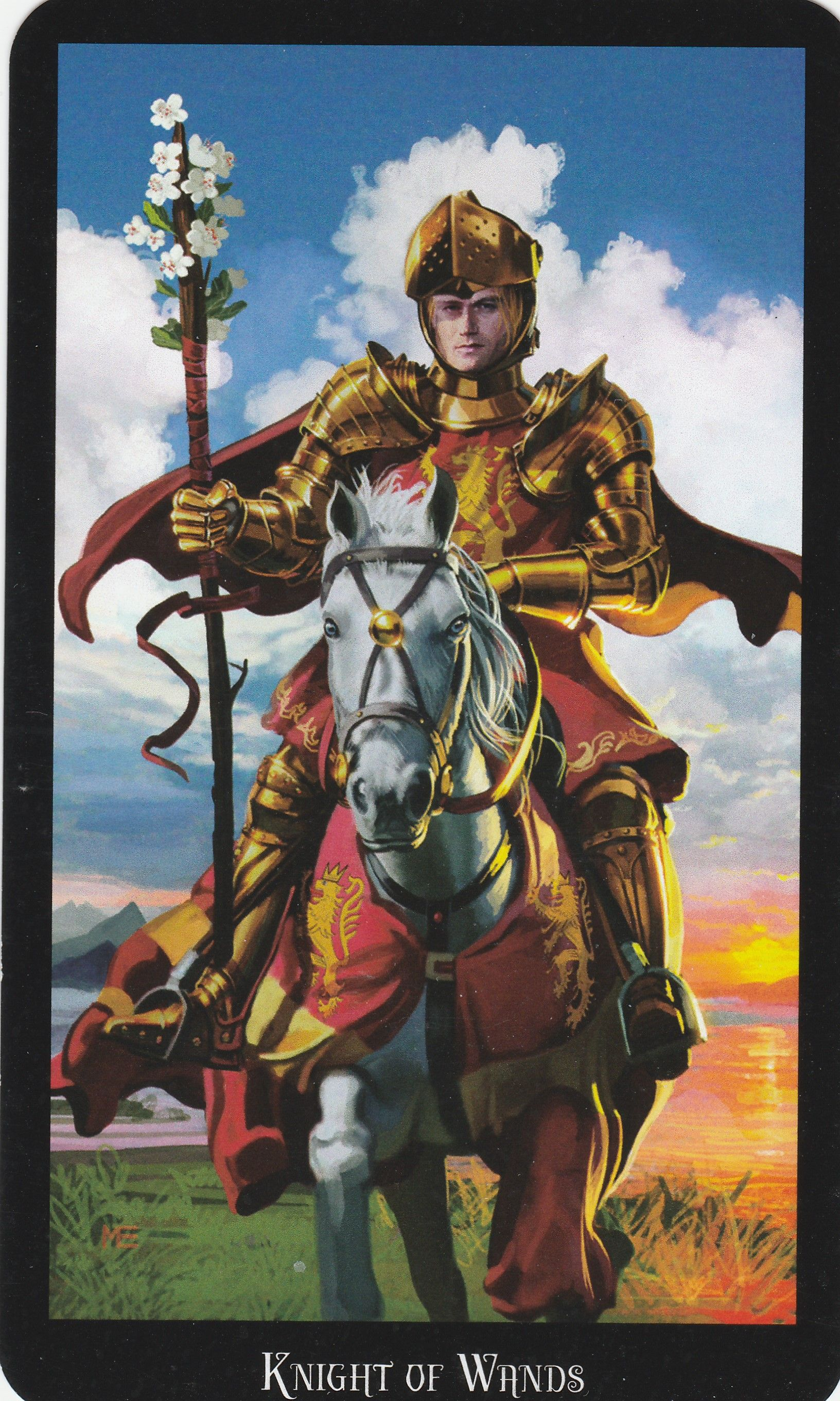 Resultado de imagem para Tarot Deck by Ellen Dugan & Mark Evens queen swords