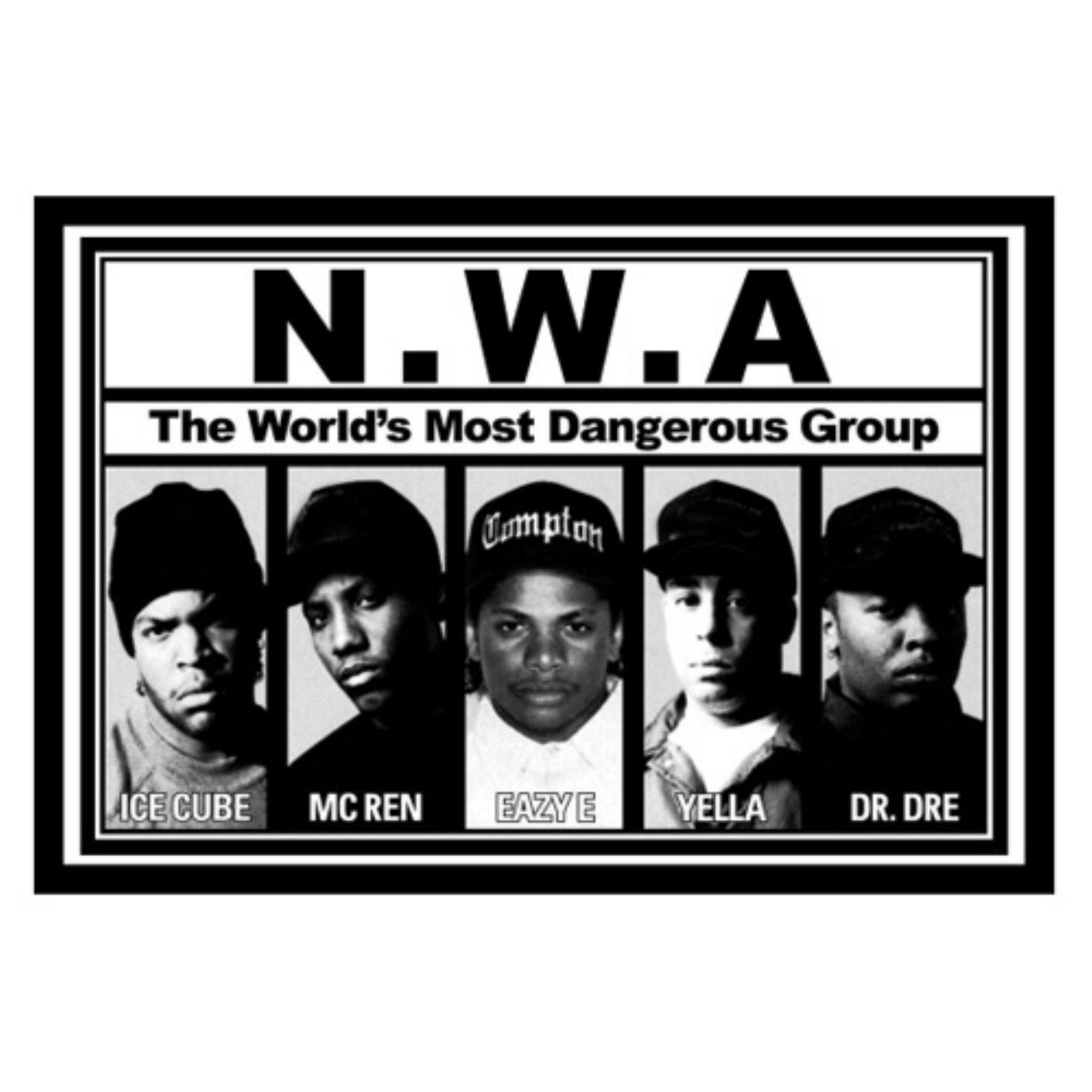 STRAIGHT OUTTA COMPTON Movie PHOTO Print POSTER Film Art Rap Hip Hop Dre 001