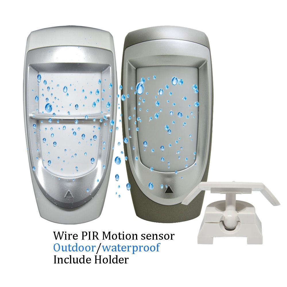 Wired Outdoor Pet Immune Motion PIR Detector Sensor Lot for Home Alarm System