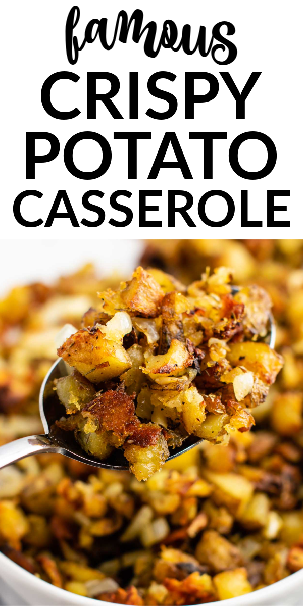 Photo of Famous Crispy Potato Casserole