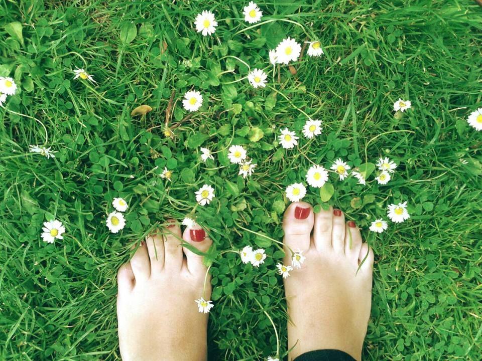 Andar descalço pela grama do Vondelpark em Amsterdam <3