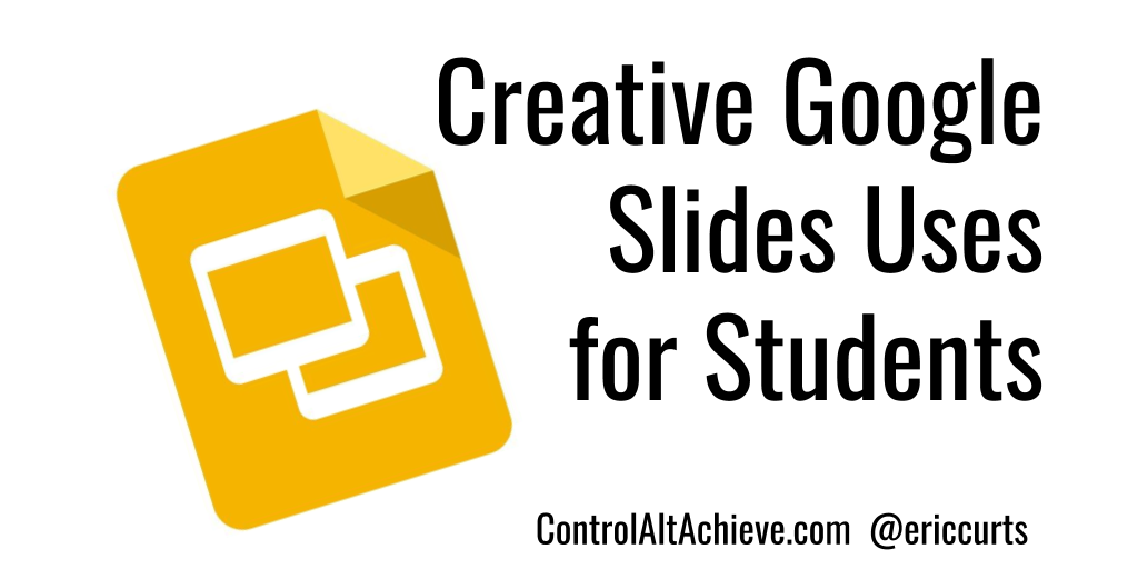 see a wide range of creative student activities with google slides