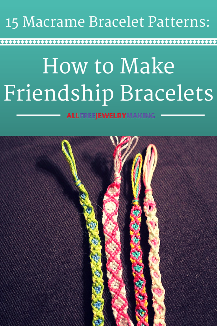 how to make different bracelets