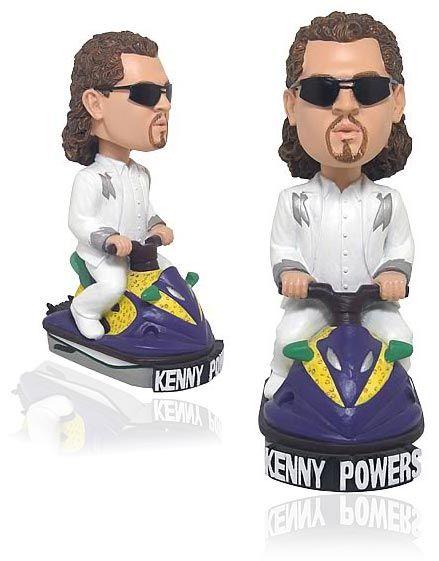 pretty nice e91b1 e42be Kenny Powers bobblehead is riding the Panty Dropper jetski. This model DOES  NOT talk.
