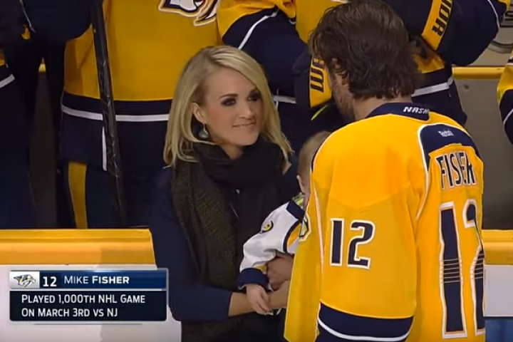 Image result for NHL and Mike Fisher