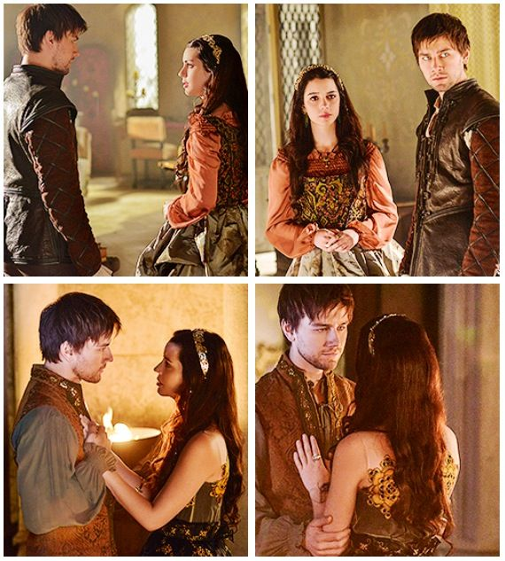 """Reign. Bash. Mary. Episode 11 Bash: """"Claiming England means nothing to me. I was only interested in claiming you."""" *swoon*"""