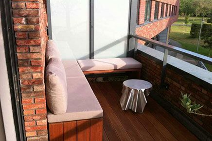 Simpel Balkon Ontwerp : Kleine balkon van tatjana sprick balkon verschönern pinterest