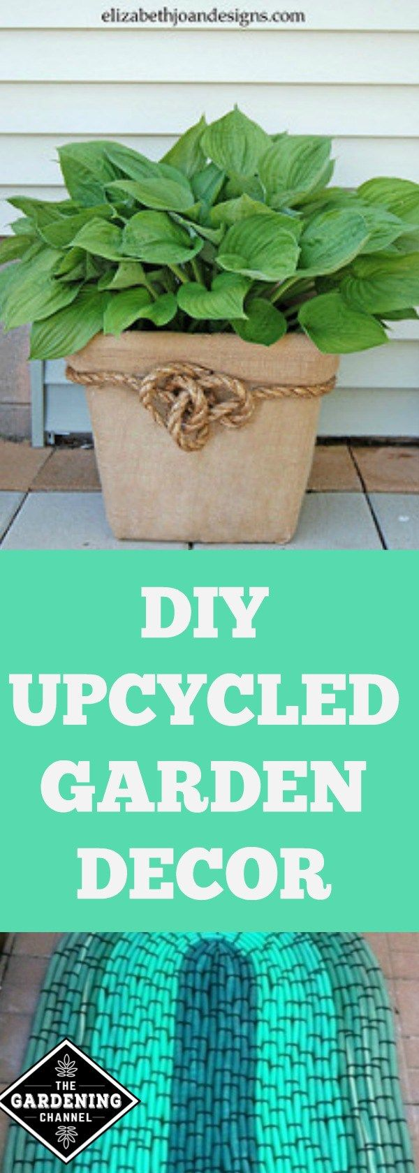 Seven Unusual Upcycled Garden Decorations   Gardens, Upcycled garden ...