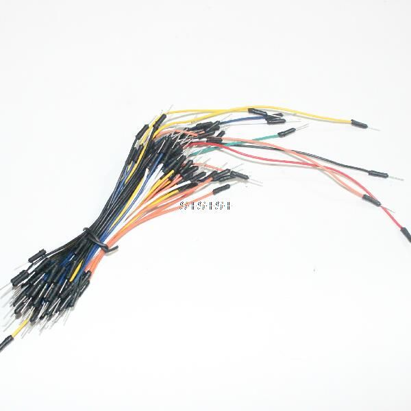 Hot Sale 65pcs/lot Jump Wire Cable Male to Male Flexible Jumper Wires for Arduino Breadboard DIY Starter Kit Free Shipping-in Other Electronic Components from Electronic Components & Supplies on Aliexpress.com | Alibaba Group