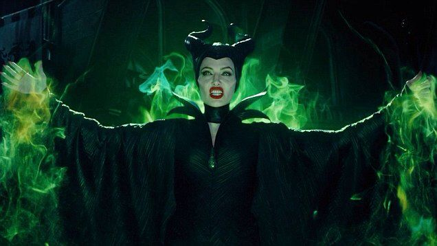 Green Fire Angelina Jolie Maleficent Movie Maleficent